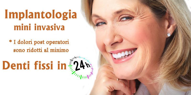 Implantologia mini invasiva