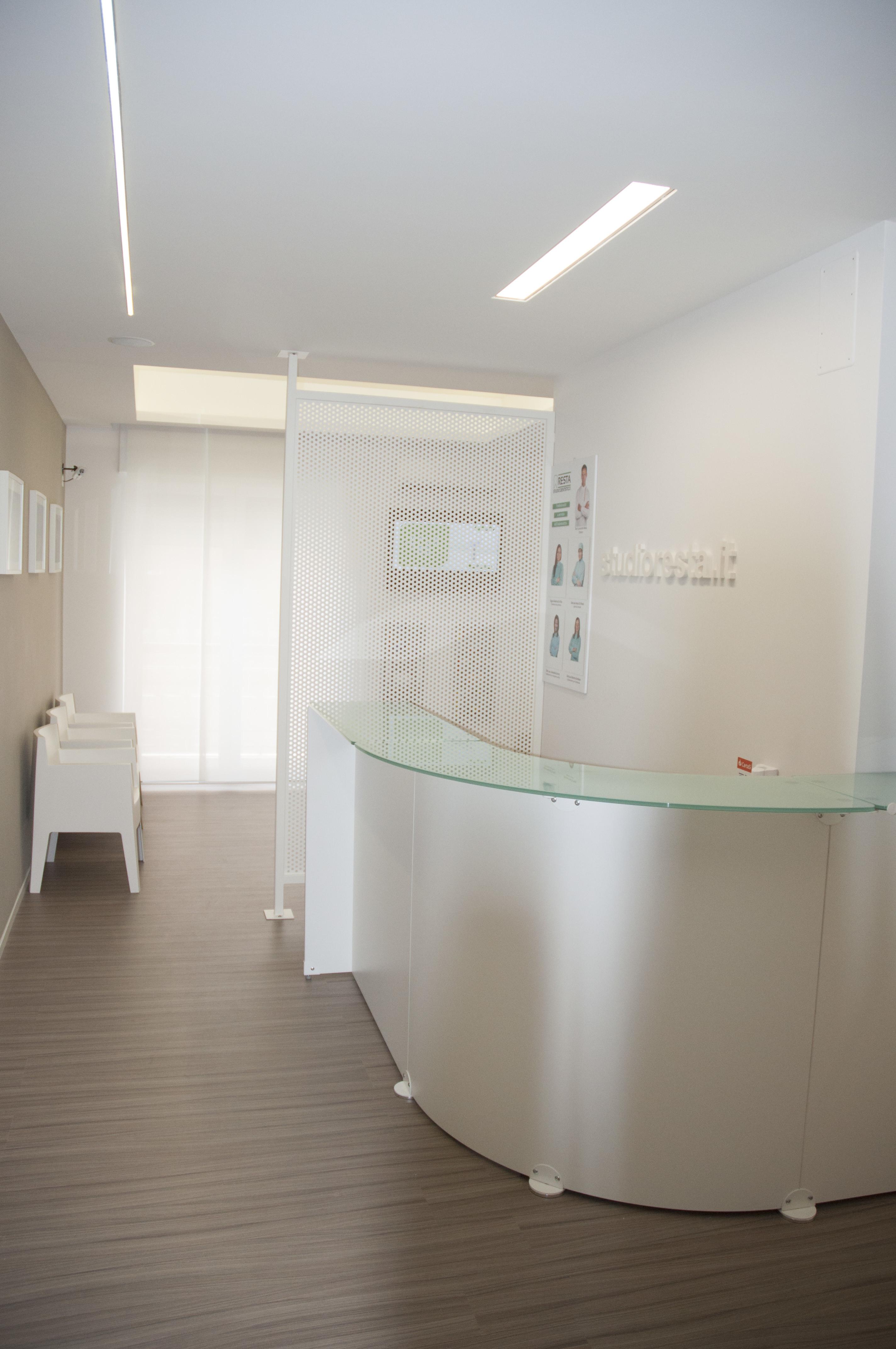 Reception + sala attesa