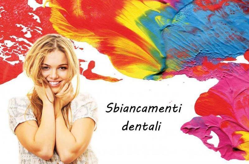Sbiancamenti denti